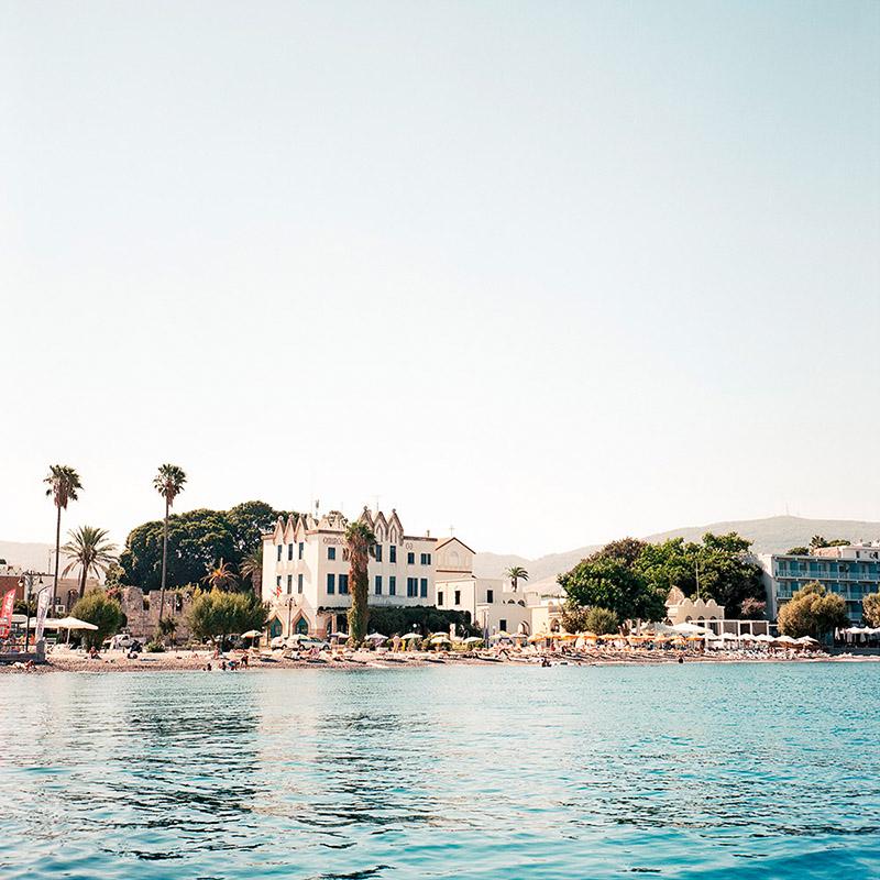 Grecja Kos 2012 - panorama z molo (web szer 800px)